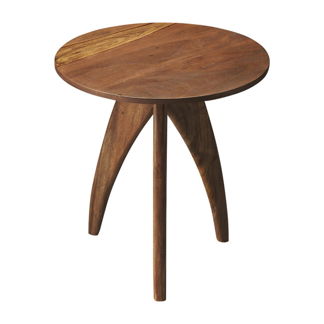 Lautner Wooden Accent Table, Natural