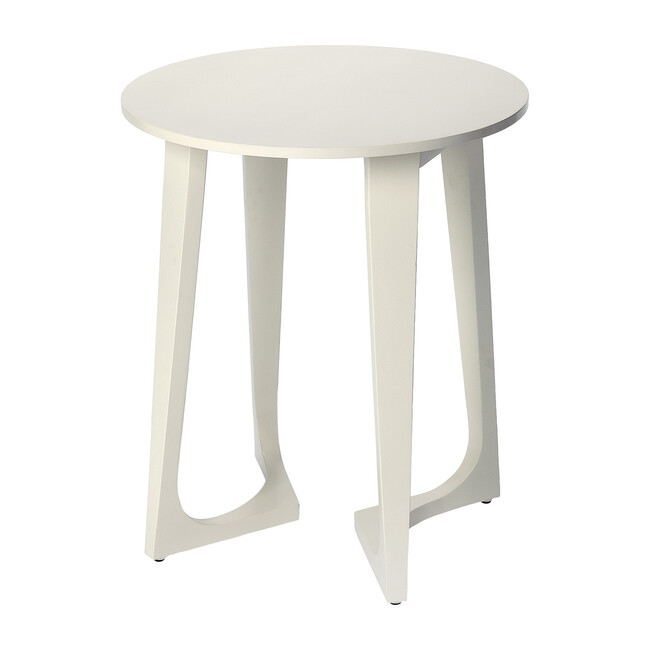 Devin Accent Table, White