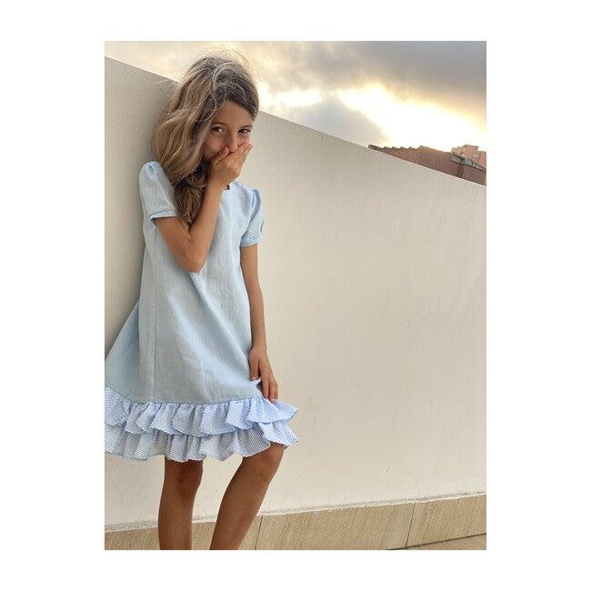 Giselle Dress, Blue