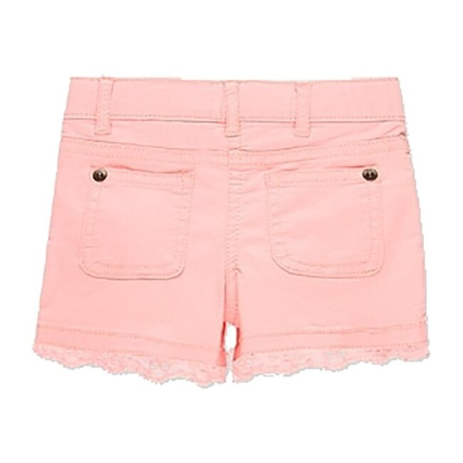 Stretch Gabardine Shorts, Pink