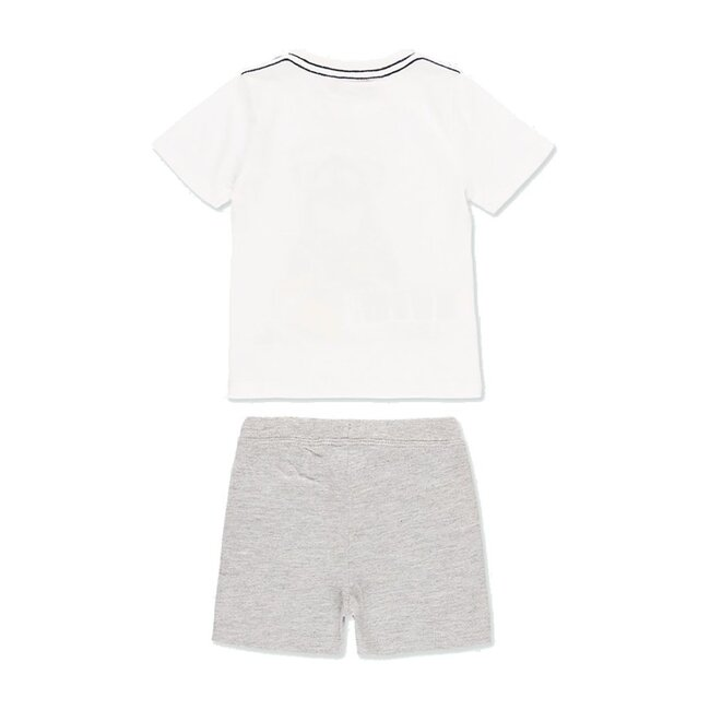 Shark Outfit Set, White