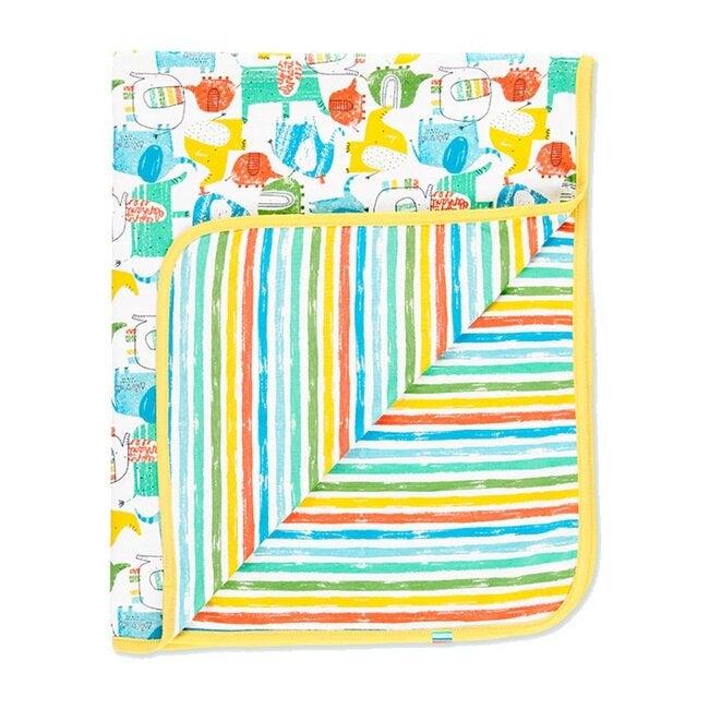 Knit Print Blanket, Multi