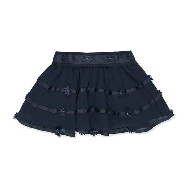 Gauze Skirt, Navy