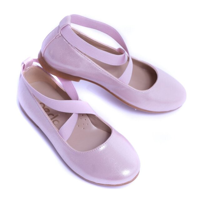 Toddler Satin Ballerina Flats, Pink