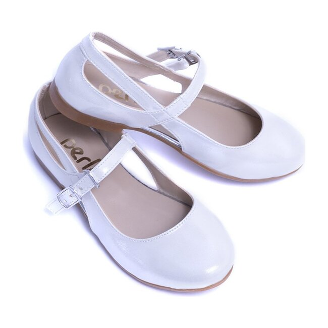 Cut-Out Flats, White