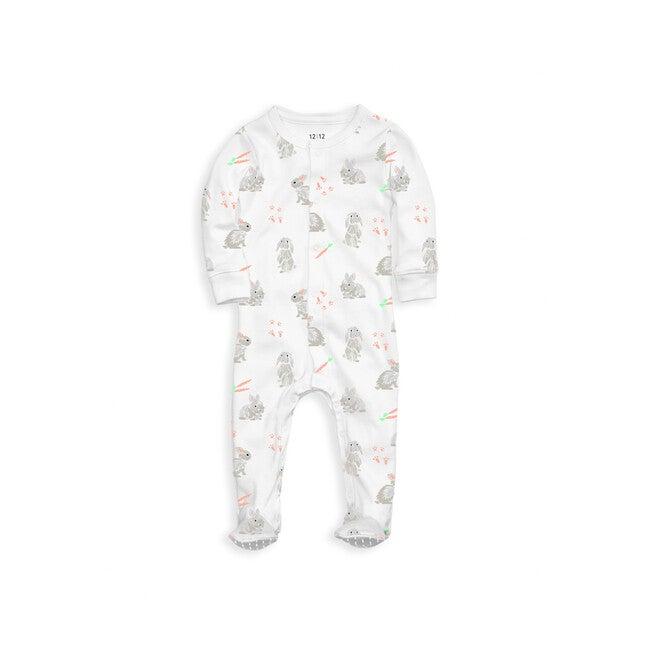 Footed Pajama, Bunnies