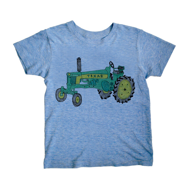 Tractor T-Shirt, Blue