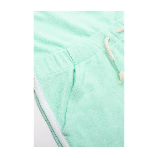 Terrycloth Romper Coverup, Mint