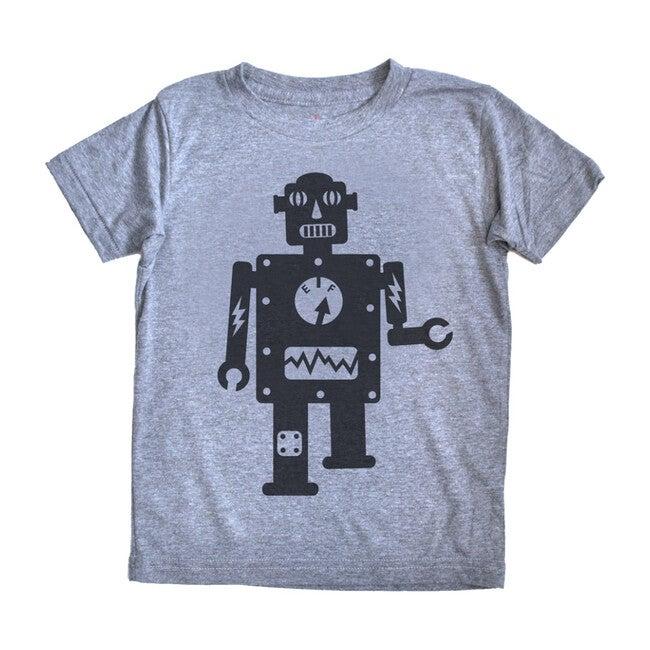 Robot T-Shirt, Grey