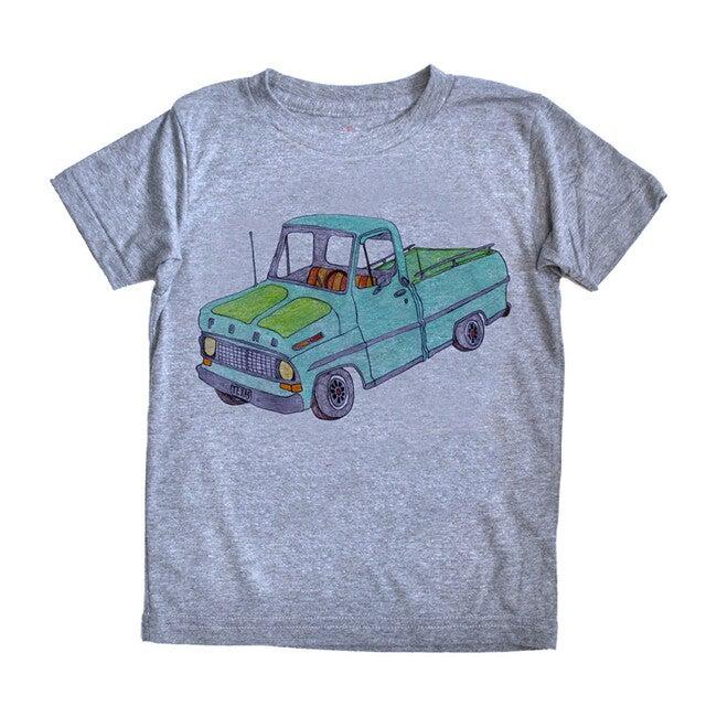 Pickup Truck T-Shirt, Grey