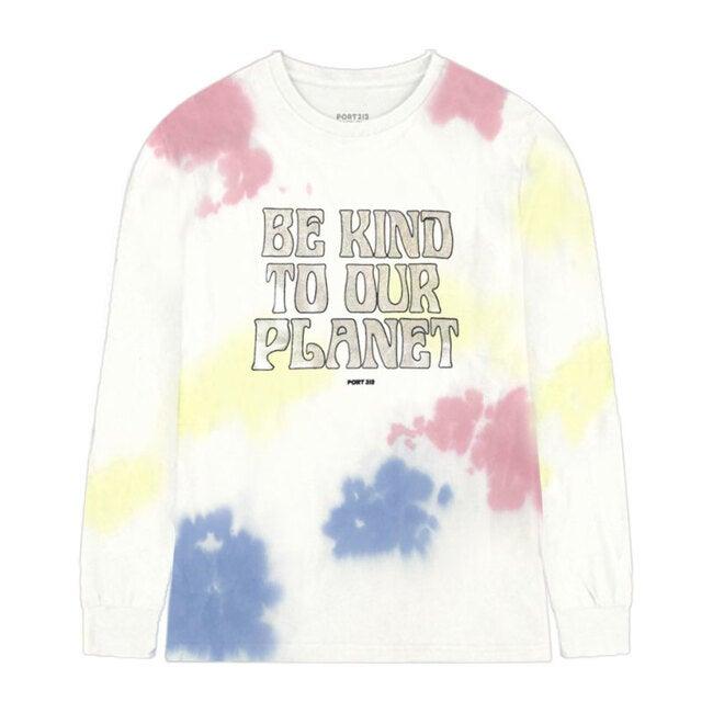 Planet Long Sleeve T-Shirt, Tie Dye