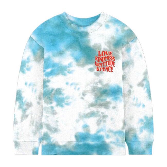 Love Kindness Tie Dye Sweatshirt