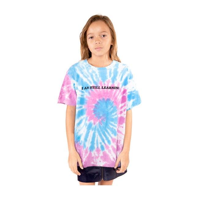 Learning T-Shirt, Blue & Pink Tie-Dye