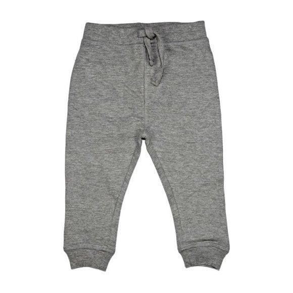 Fleece Pants, Heather Grey