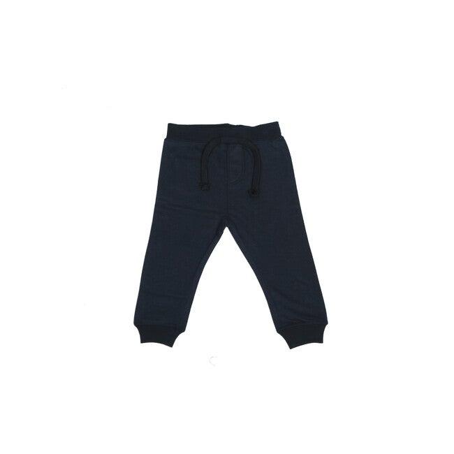 Fleece Pants, Navy