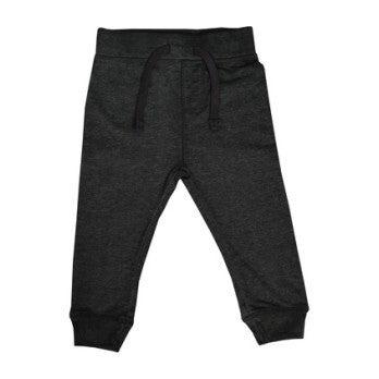 Distressed Jogger Pant, Black