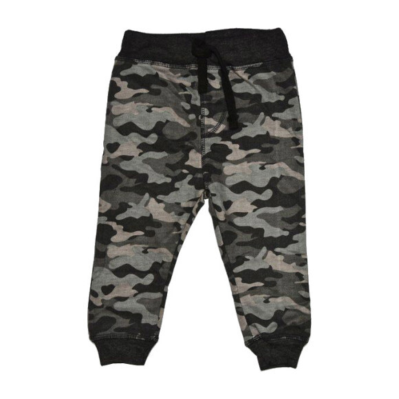 Camo Jogger Pant, Black
