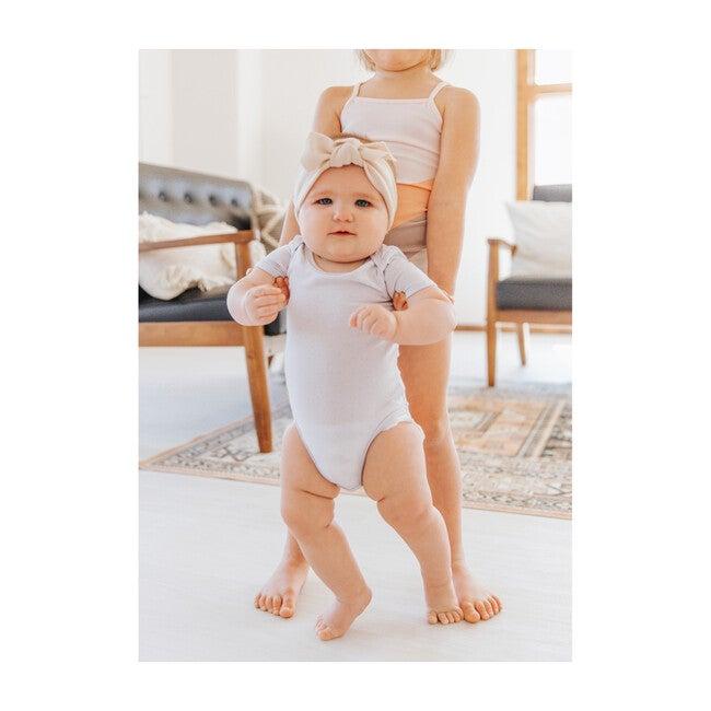 Baby Girl Short Sleeve Onesies Set