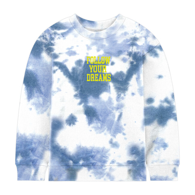 Blue Dreams Tie Dye Sweatshirt