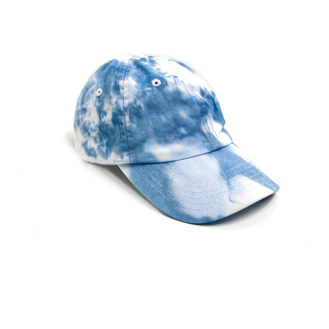 Tie Dye Cap, Blue