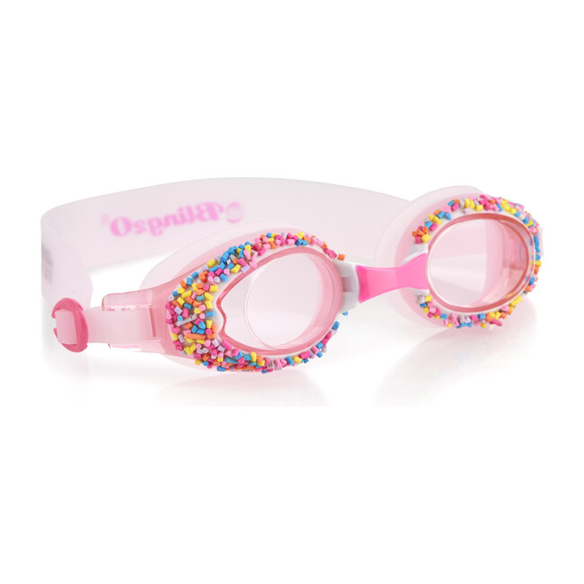 Angel Cake Goggle and Flamingo Snorkel Duo