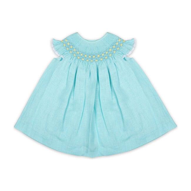 Bergara Dress, Turquoise