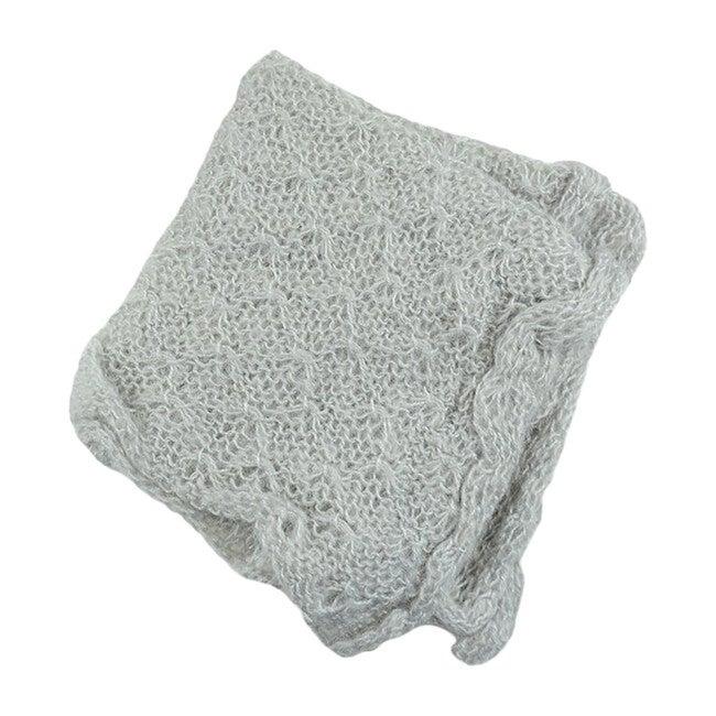 Mohair Wrap, Gray