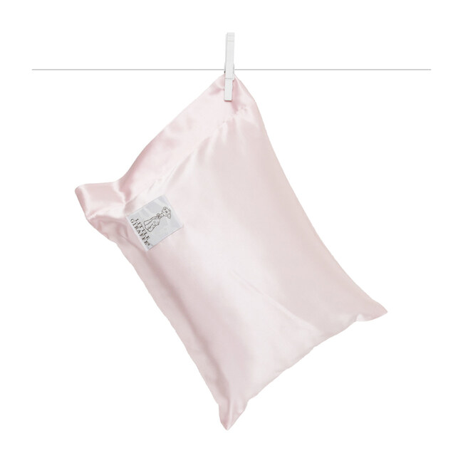 Satin Nap Pillow, Pink