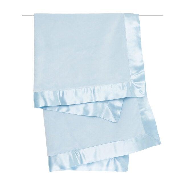 Velvet Deluxe Blanket, Blue