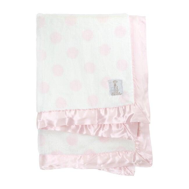 Luxe Dream Dot Blanket, Pink