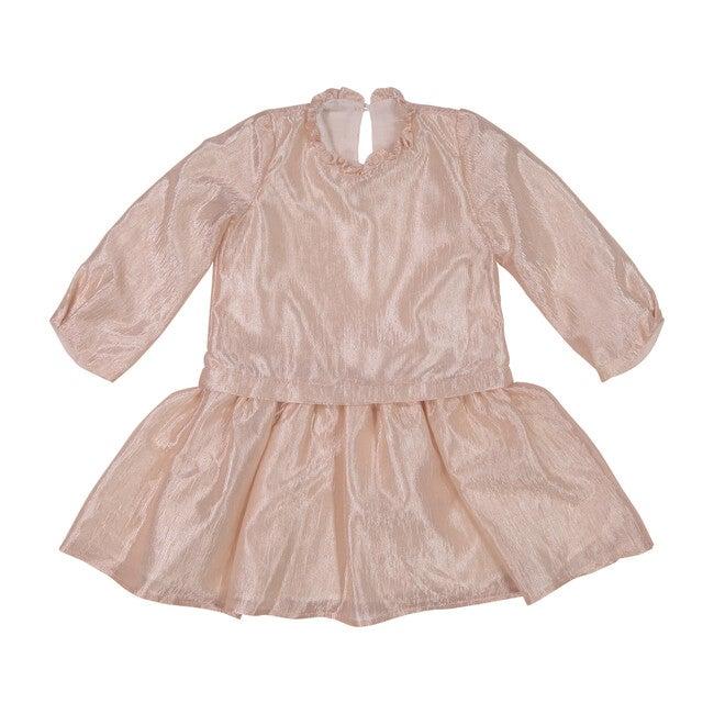 Duo Dress, Glossy Peach - Dresses - 1