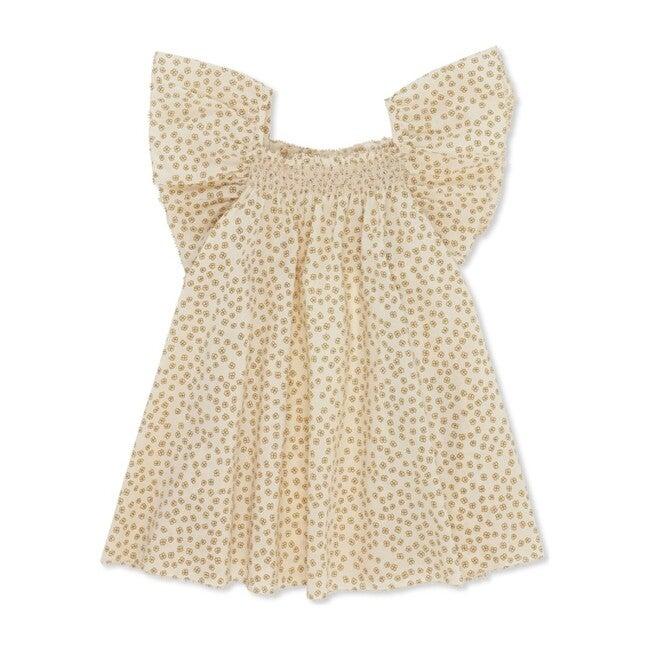 Pilou Strap Dress, Buttercup Yellow