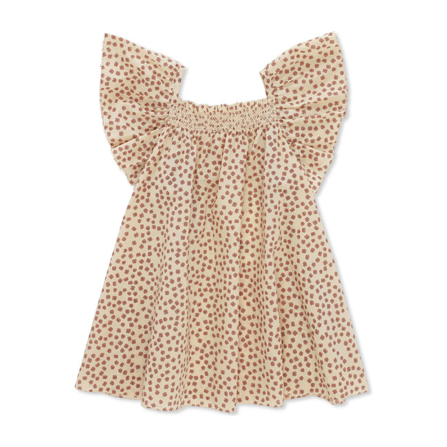 Pilou Strap Dress, Buttercup Rosa