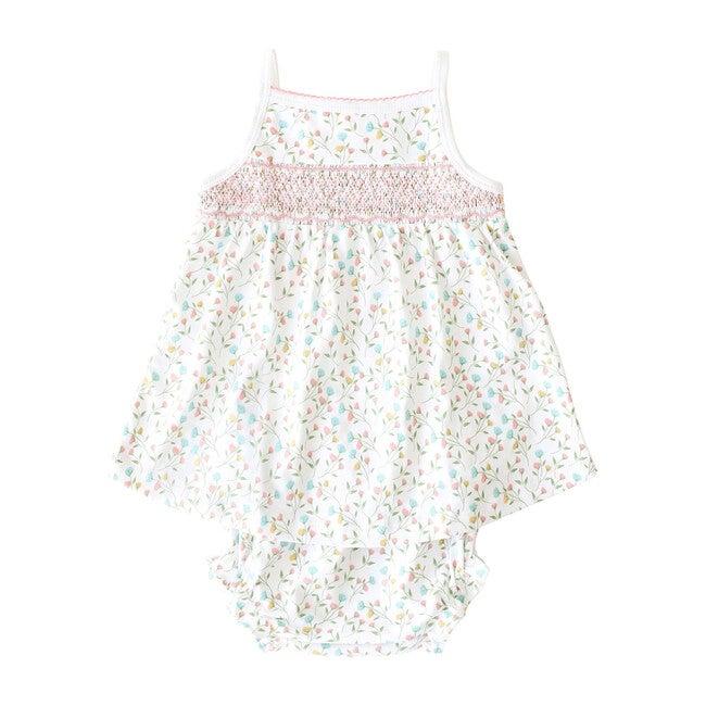 Pink Arabella Smocked Tank Dress