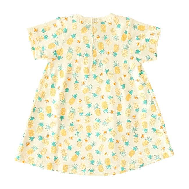 Pineapple Print Swing Dress