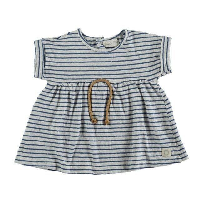 Dress, Blue Stripes