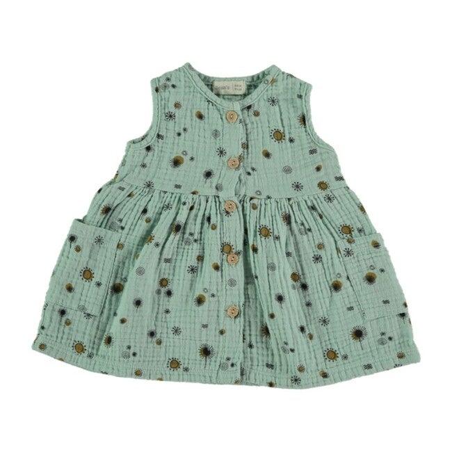 Dress, Sea Green