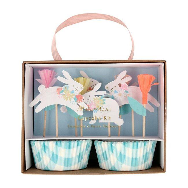 Spring Bunny Cupcake Kit, Multi