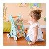 Preschool Play Lab Safari Animal Wooden Baby Walker - Developmental Toys - 2