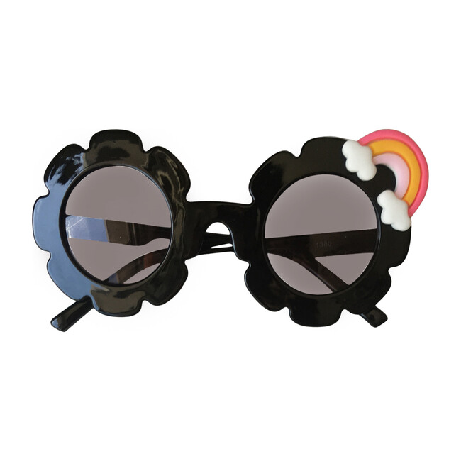 Rainbow Monogrammable Sunglasses, Black