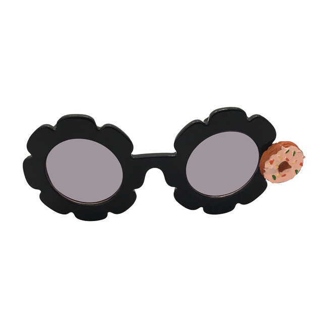 Donut Monogrammable Sunglasses, Black