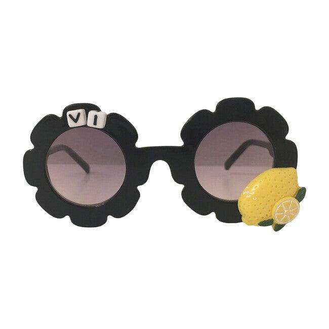 Monogrammable Black Lemon Sunglasses