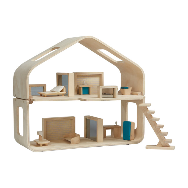 Wooden Contemporary Dollhouse - Woodens - 1