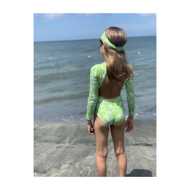 Bella Long Sleeve One Piece, Jungle Party