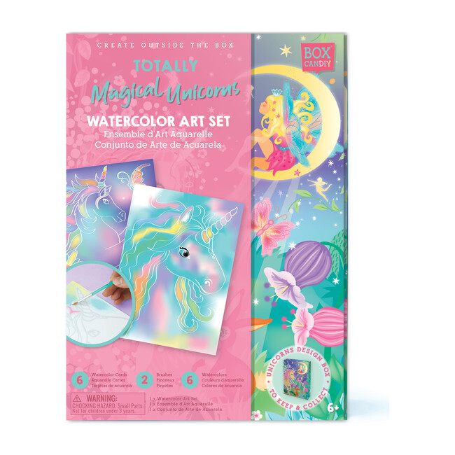 Totally Magical Unicorns Watercolor Art Set