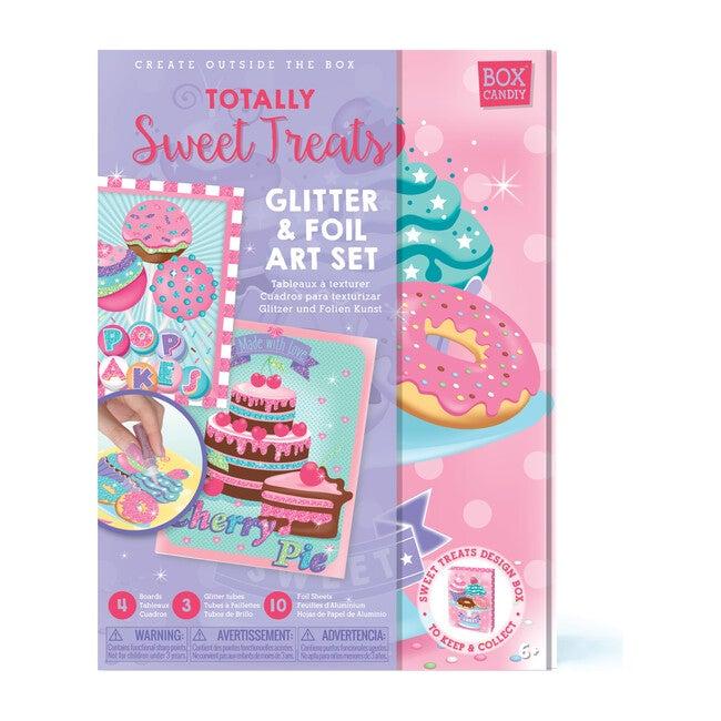 Totally Sweet Treats Glitter & Foil Art Set