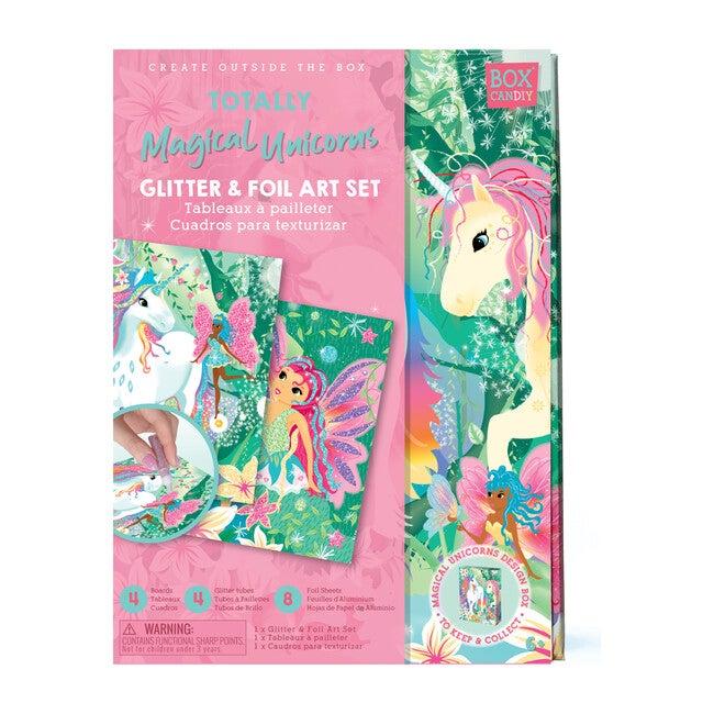 Totally Magical Unicorns Glitter & Foil Art Set