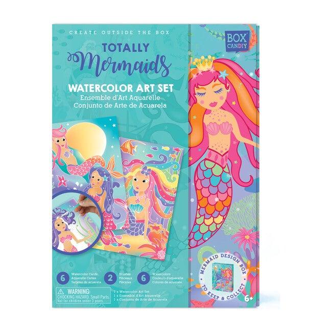 Totally Mermaids  Watercolor Art Set