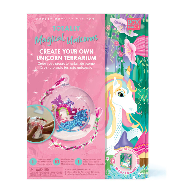 Totally Magical Unicorns Create Your Own Unicorn Terrarium