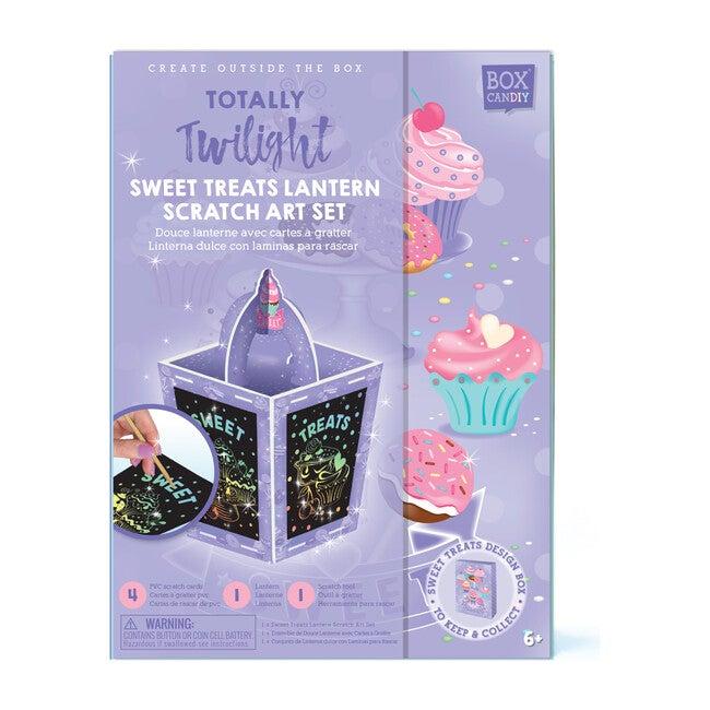 Totally Twilight Sweet Treats Lantern Scratch Art Set